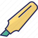 board marker, highlighter, marker, marker pen, stationery icon