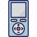 device, ipod, mp3 player, multimedia, music player icon