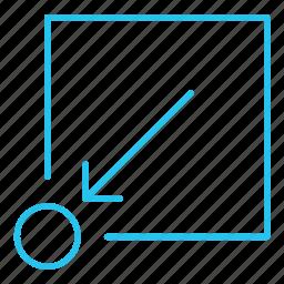 add, arrow, download, guardar, keep, receive, save icon