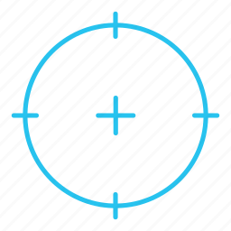 aim, cross, goal, target icon