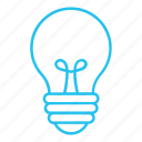 bulb, creative, idea, invent, invention, light, lightbulb icon