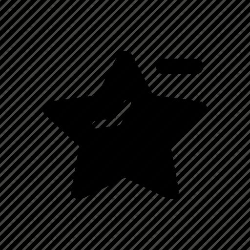 dislike, favorite, star, ui icon