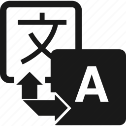 arrows, translate, translation, translator icon
