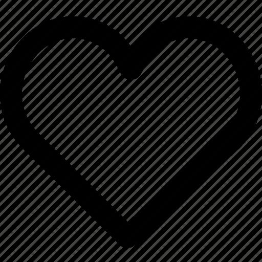 heart, like, likes icon