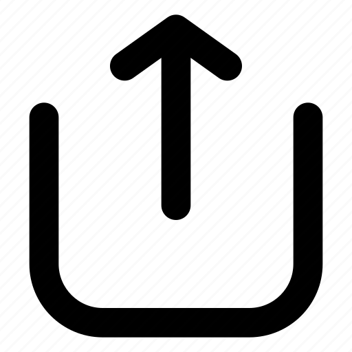 cloud, import, load, upload icon