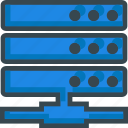 center, data, database, hosting, rack, server, storage icon