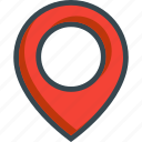 address, location, map, navigation, pin icon