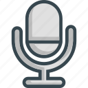 mic, microphone, record, siri, sound, speaker icon