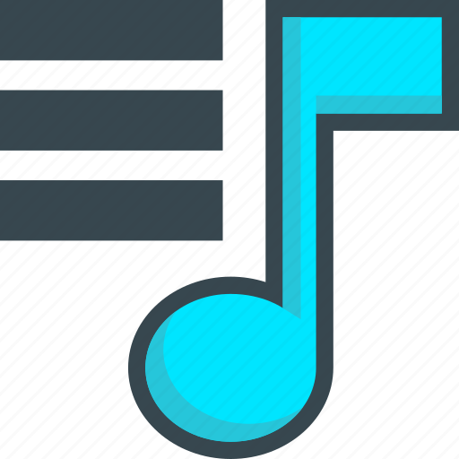list, music, play, player, playlist, sound icon