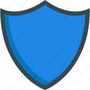online, protection, safety, security, shield icon