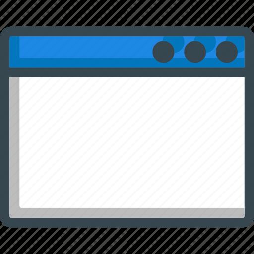 browser, internet, online, web, website, window icon