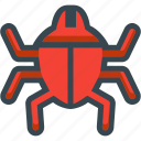 bug, insect, malware, trojan, virus icon