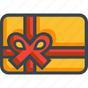 card, coupon, gift, giftcard, voucher icon