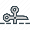 coupon, cut, discount, offer, scissors icon