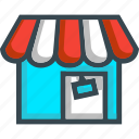 ecommerce, market, online, shop, store icon