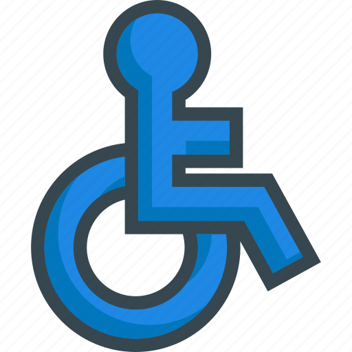 accesible, access, chair, safety, security, wheel, wheelchair icon