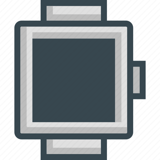 app, media, mobile, phone, smartwatch, watch icon