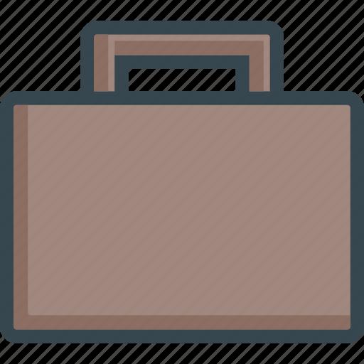 baggage, briefcase, case, office, paperwork, portfolio, suitcase icon