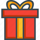 birthday, box, christmas, gift, present, ribbon icon