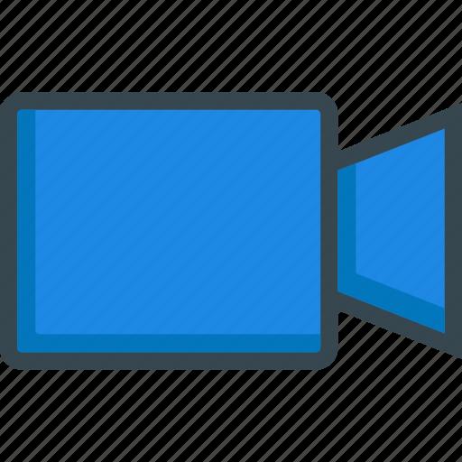 broadcast, camera, cine, cinema, film, video icon