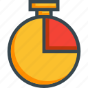 chronometer, stopwatch, timepiece, timer icon