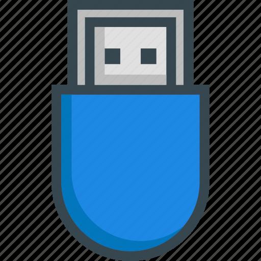 data, drive, pendrive, storage, usb icon