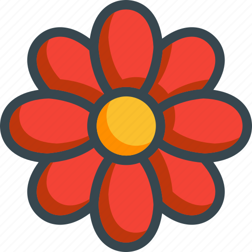 beauty, floral, flower, nature icon