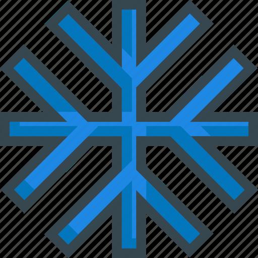 cold, frozen, snow, snowflake, winter icon