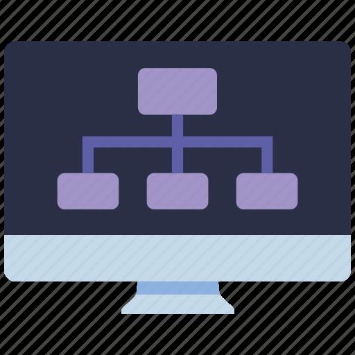 diagram, mobile marketing, seo, seo pack, seo services, web, web design icon