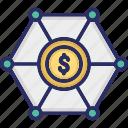 budget, dollar, income, revenue icon