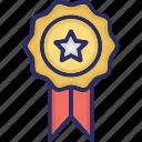 achievement, award, badge, reputation icon