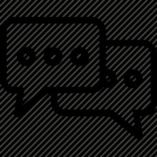 chat bubble, chatting, conversation, talk, testimonial icon