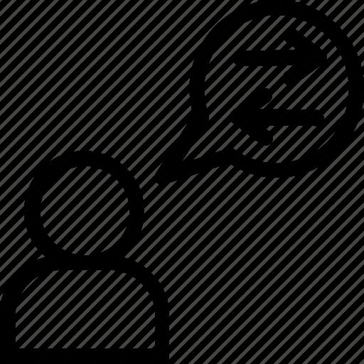 bubble, chat, communication, forum, messenger icon