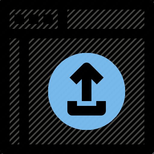browser, computing, interface, internet, ui icon
