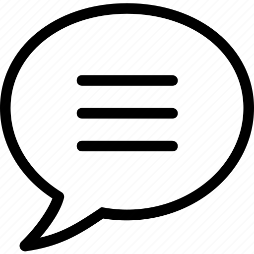 chat bubble, chatting, message, sms, talk icon