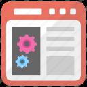 computer coding, digital assistants, network development, programming, web development icon