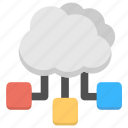 cloud computing network, cloud hosting server, cloud network, cloud server, cloud web hosting icon