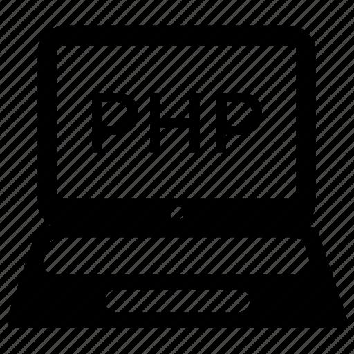 php, php development, programming, programming interface, web development icon