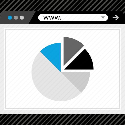 ad, clicks, data, web icon