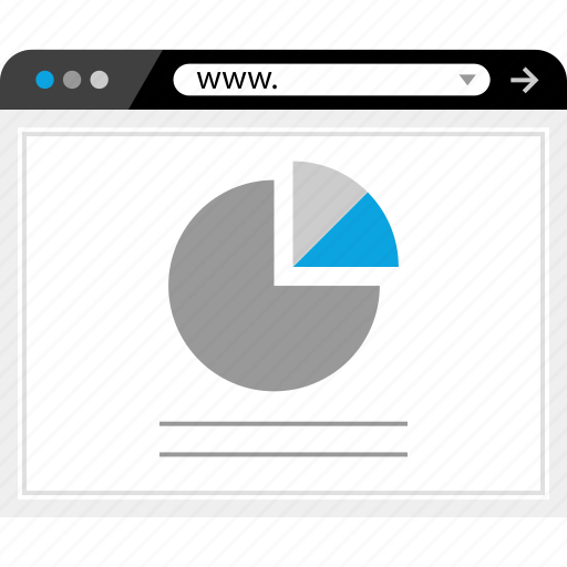 analytics, find, google, look icon