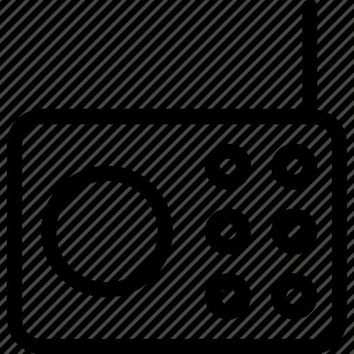 Radio, radio set, technology, transmission, tuner icon - Download on Iconfinder
