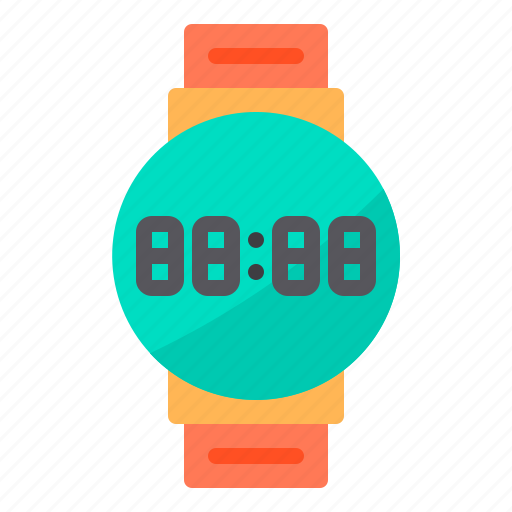browser, computing, interface, internet, smartwatch, time, watch icon