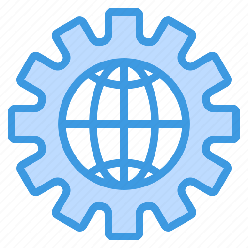 computing, globalization, interface, internet icon