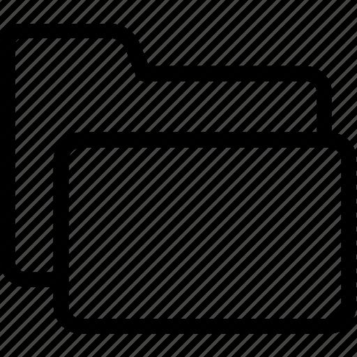 archives, documents, file folder, folder, storage icon
