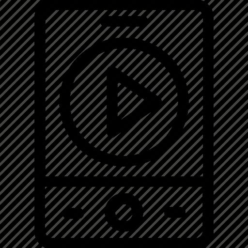 ios, ipod, media, music, walkman icon