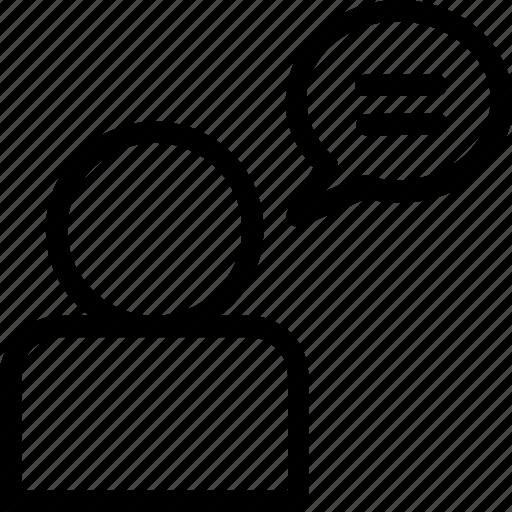 chatting, communication, conversation, help, talk icon