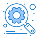 magnifier, optimization, scan, search, seo