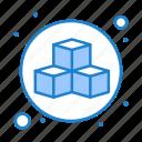 3d, box, cube, design