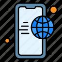 app, globe, internet, mobile