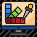 web, palette, picker, dropper, customize